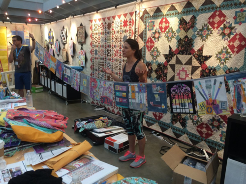 Carrie Bloomston talks about her prayer flag project
