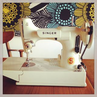 Kim's sewing machine