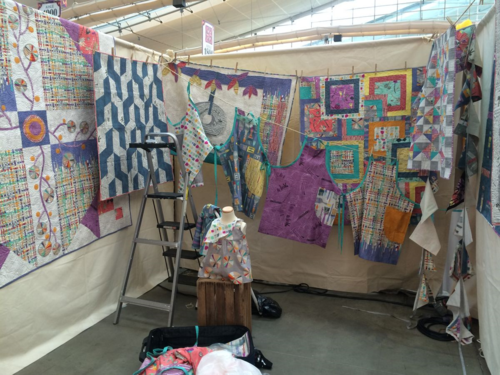 Carrie Bloomston's booth