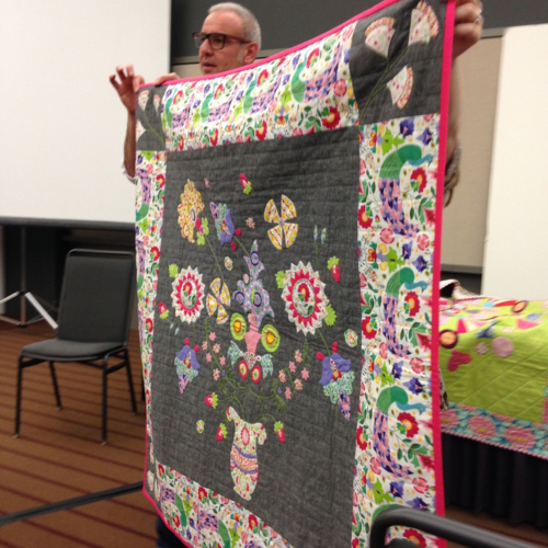 Sarah Fielke's Enchanted applique